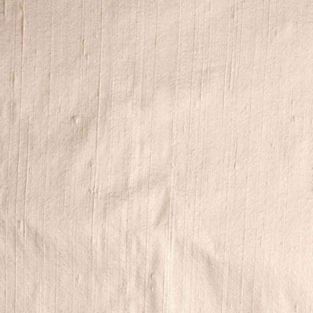 White Dupion Silk Running Fabric-4886