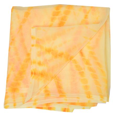 Yellow Chiffon Georgette Fabric-29024