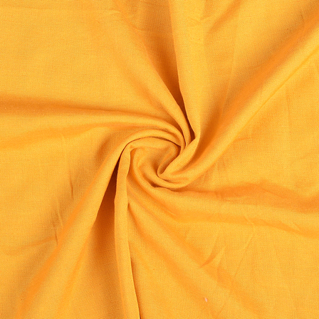 Yellow Cotton Handloom Fabric-40283