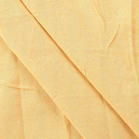 Yellow Cotton Handloom Fabric-40163