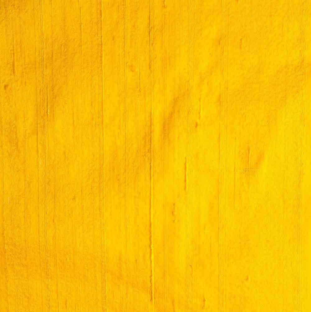 Yellow Dupion Pure Raw Silk Fabric