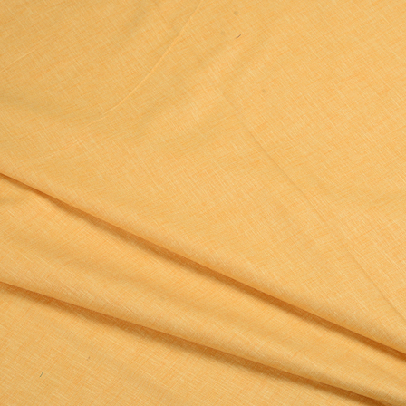 Yellow Cotton Linen Shirt Fabric-90057
