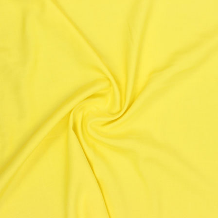 Yellow Plain Khadi Rayon Fabric-40694