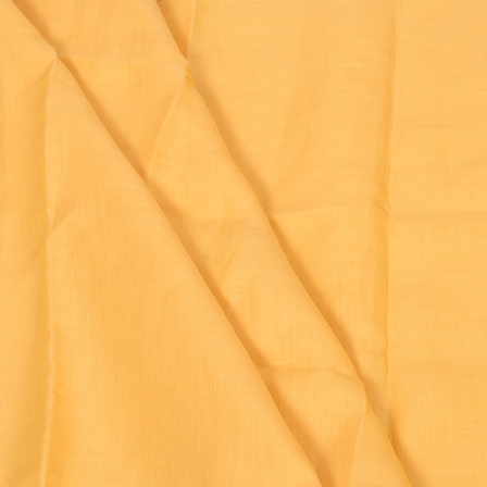Linen Shirt (1.6 Meter) Fabric- Yellow Plain-90009
