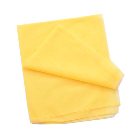 Yellow Plain Net Fabric-60183