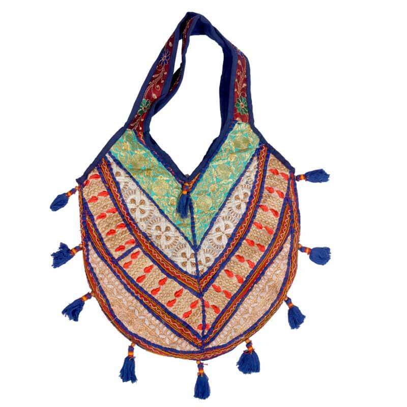Multicolor Handcrafted Antique Banjara Bag