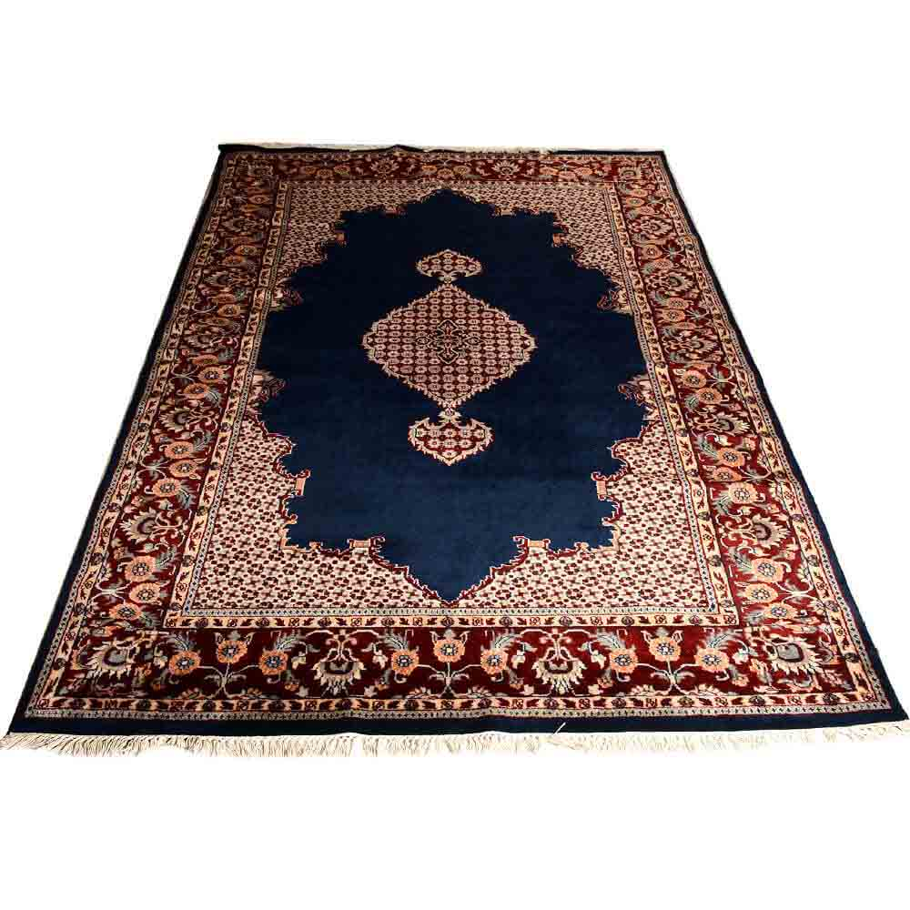 Red/Blue 6*9 persian Hand Knotted Wool Rug