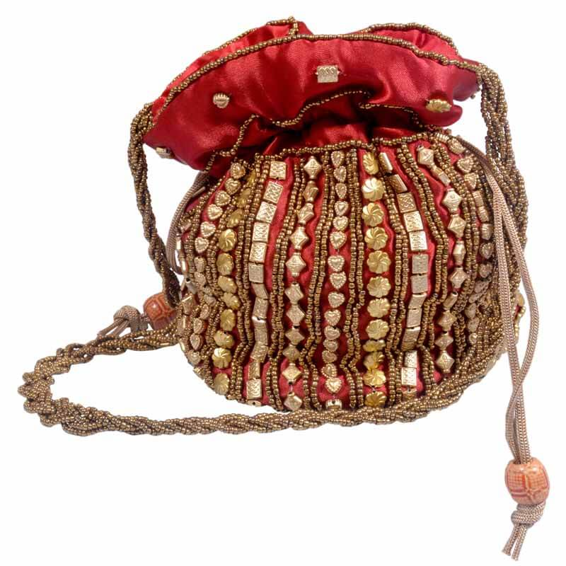 Red Potli Bag