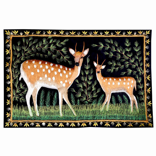 Tapestry with 2 Deers