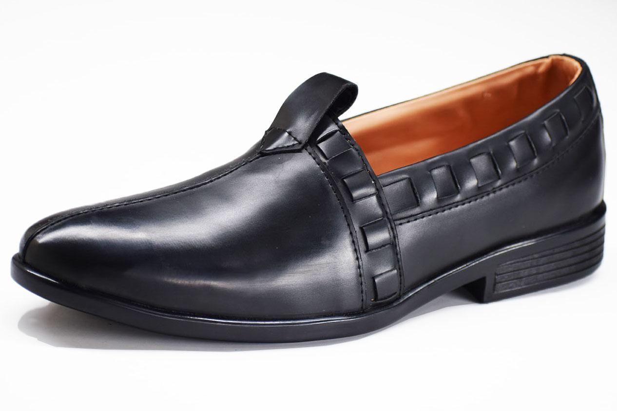 Mojeri Crust Black Color Shoe-33280