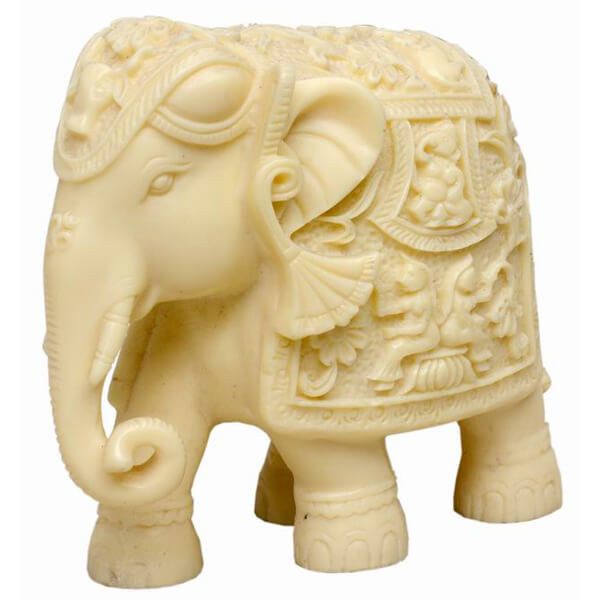 resin Elephant Statue-4 inch