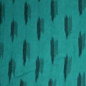 Beautiful Sea Green and Black Ikat Fabric