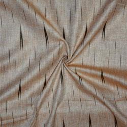 Beige Black Ikat Cotton Fabric-11134