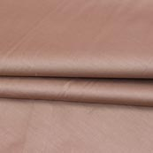 Beige Plain Cotton Silk Fabric-16432