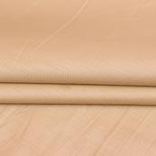 Beige Plain Cotton Silk Fabric-16436