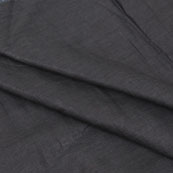 Black-Plain-Linen-Fabric-90084