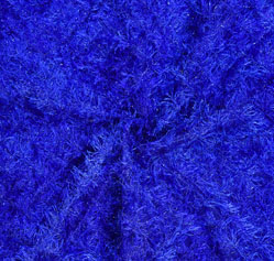 Blue Embroidery Silk Sequin Fabric-18698