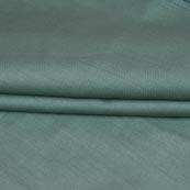 Blue Plain Cotton Silk Fabric-16463