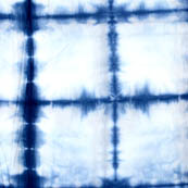 Blue and white tie dye fabric-4589