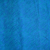 Blue soft brocade silk fabric-5073