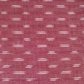 Blush Red and White Ikat Cotton Fabric-4238