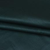 Bottle Green Plain Cotton Silk Fabric-16439