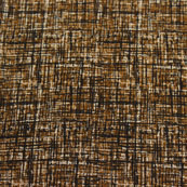 Brown Block Print Cotton Fabric-14803