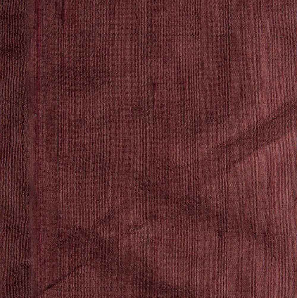 Brown Dupion Pure Raw Silk Fabric
