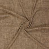 Brown Plain Handloom Khadi Cotton Fabric-40652
