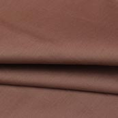 Coffee Plain Cotton Silk Fabric-16454
