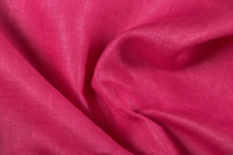 Dark Pink Plain Linen Fabric-90015