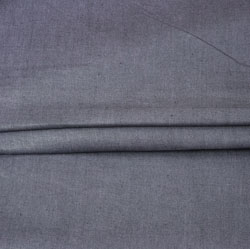 DarkGray Plain Linen Fabric-90143