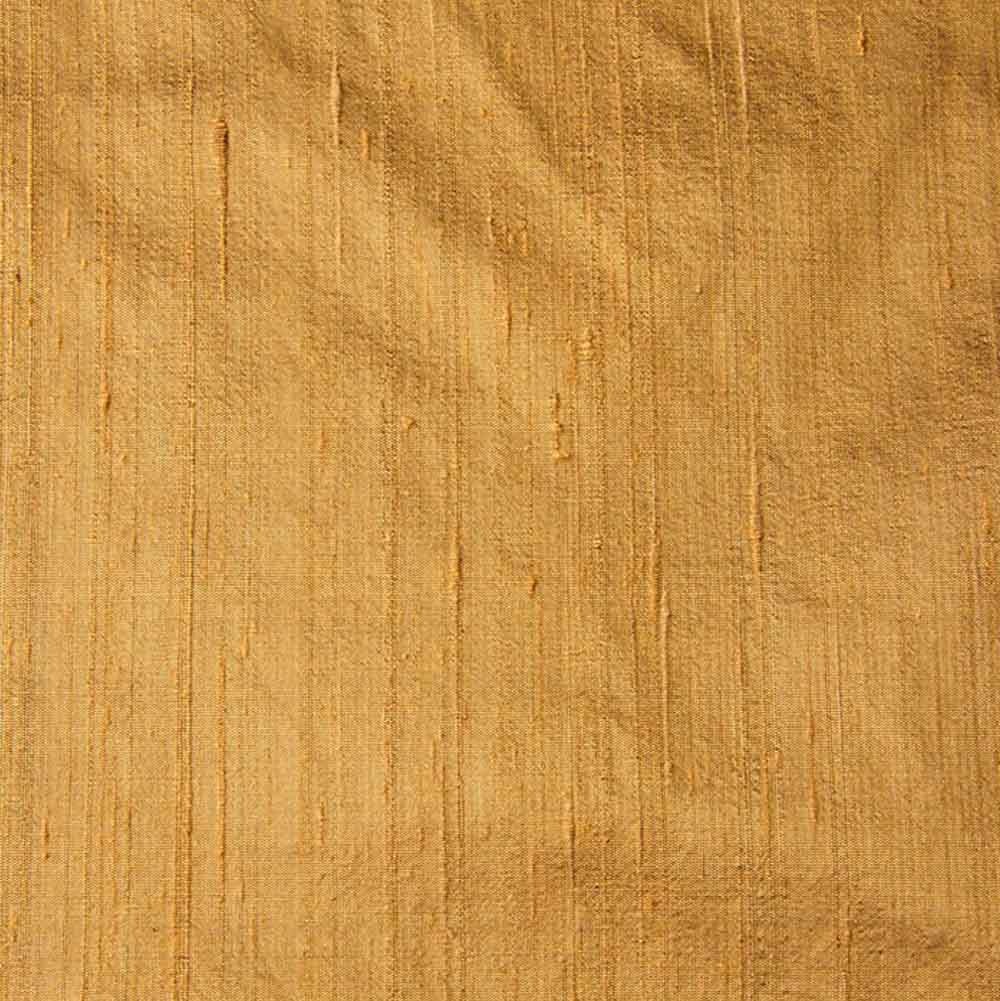 Gold Dupion Pure Raw Silk Fabric