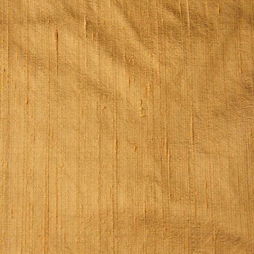 Gold Dupion Pure Raw Silk Fabric