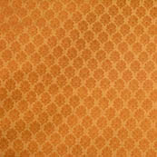 Golden flower shape brocade silk fabric-4674