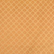 Golden small flower shape brocade fabric-4652