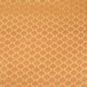 Golden small tree shape bricade silk fabric-4676