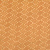 Golden square shape brocade silk fabric-4667