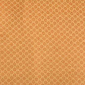 Golden tiny flower shape brocade silk fabric-4666