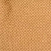 Golden tiny paisley shape brocade silk fabric-4668