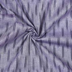 Gray Black Ikat Cotton Fabric-11094