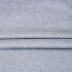 Gray Plain Linen Fabric-90139