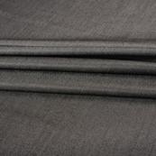 Gray Tweed Wool Fabric-40298