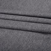 Gray Tweed Wool Fabric-40299
