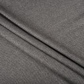 Gray Tweed Wool Fabric-40304