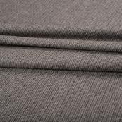 Gray Tweed Wool Fabric-40306