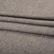 Gray Tweed Wool Fabric-40308