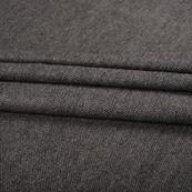 Gray Tweed Wool Fabric-40309