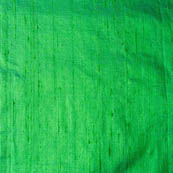 Green Dupion Silk Fabric-4861