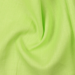 Linen Shirt (1.6 Meter) Fabric- Green Plain Indian-90038